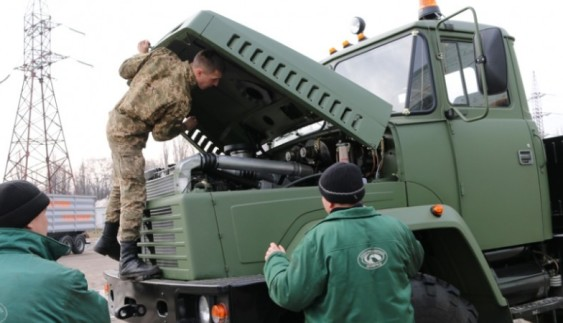 Військові автомобілі КрАЗ пішли на передову