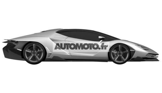 Гіперкар Lamborghini: перші зображення