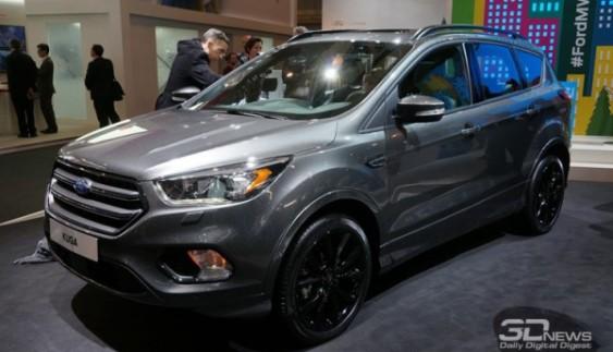 Ford офіційно презентував кросовер Kuga (ФОТО)