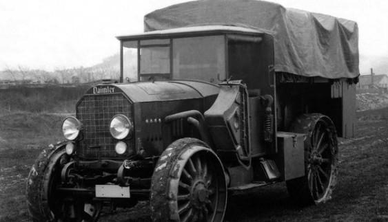 Німецький вантажний автомобіль підвищеної прохідності: KD1