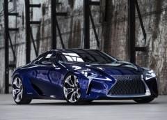 Інформація про новий розкішний Lexus LC 500h (ФОТО)