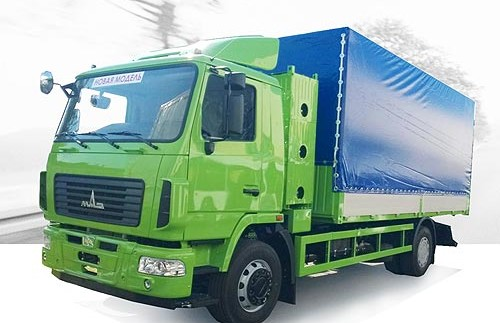 МАЗ створив дослідний зразок газового автомобіля (фото)
