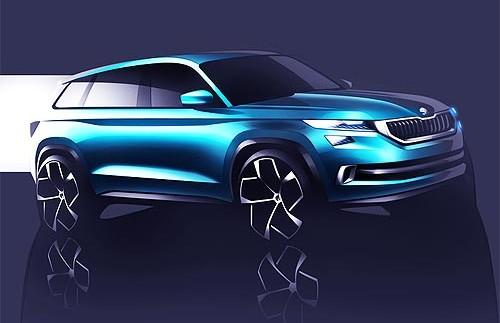 Стали відомі офіційні подробиці про новий SUV Skoda VisionS