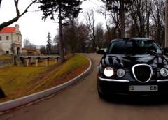 Простий тест-драйв. Jaguar S-Type – розкішний дизайн, неповторні відчуття від водіння (відео)