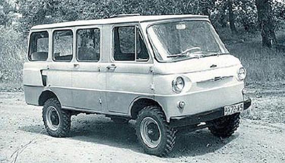 ЗАЗ-970В «Цiлина» один із перших мінівенів у світі