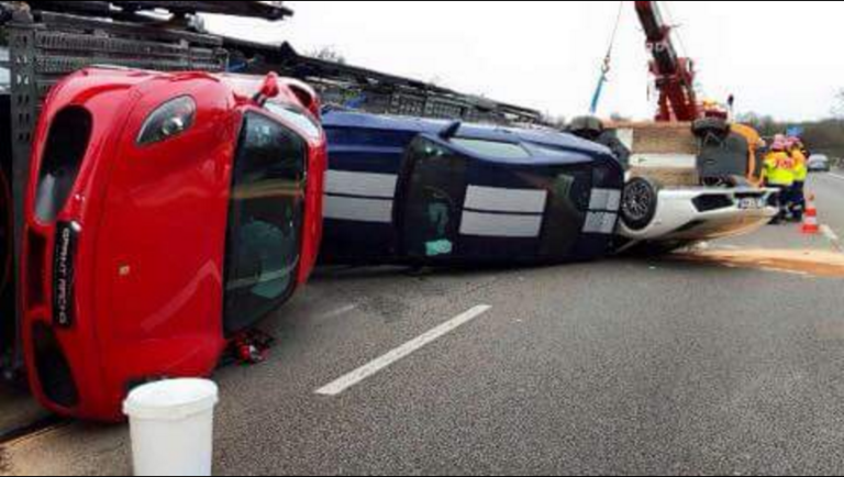 accident-a12-supercar-bailly-camion