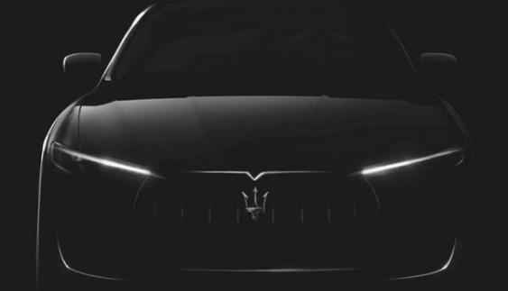 Maserati опублікувала перше зображення кросовера Levante