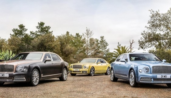 Bentley продемонстрував подовжену версію Mulsanne 2017