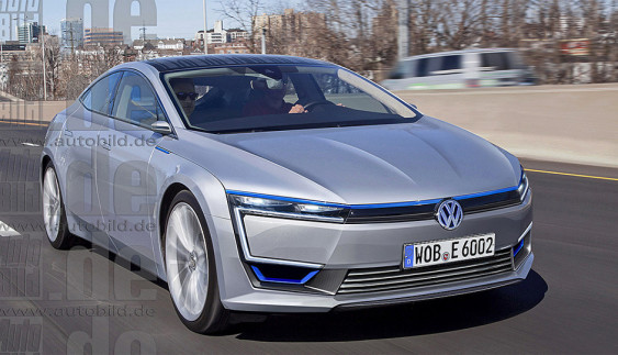 VW готує достойного конкурента Toyota Prius (Фото)