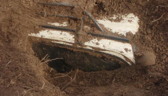 У Росії відкопали поховану «Оку»