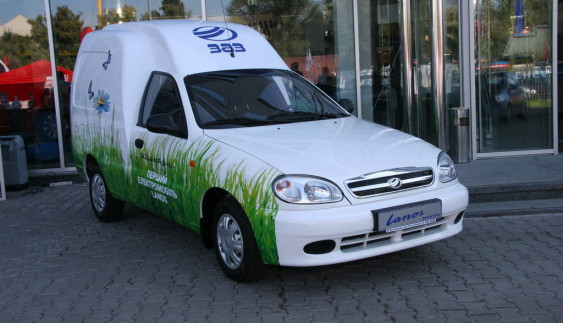 ЗАЗ випустив власний електромобіль «Ланос» (ФОТО)