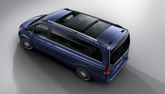 Mercedes-Benz презентував розкішний мінівен V-Class Exclusive