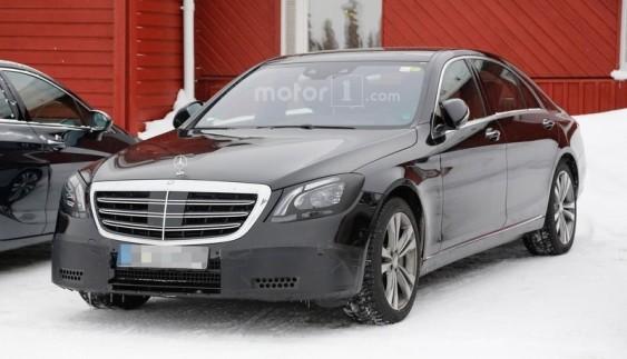 Оновлений Mercedes S-Class на свіжих шпигунських фото