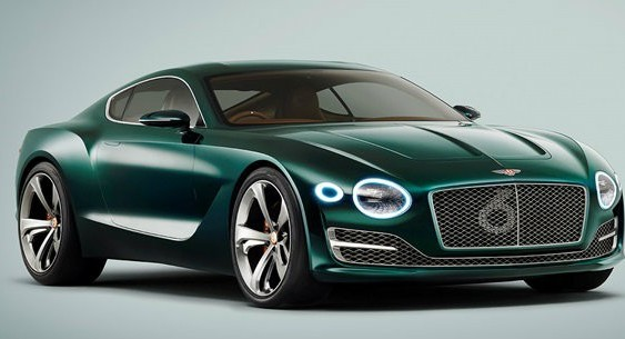 Bentley розробляє перший електромобіль