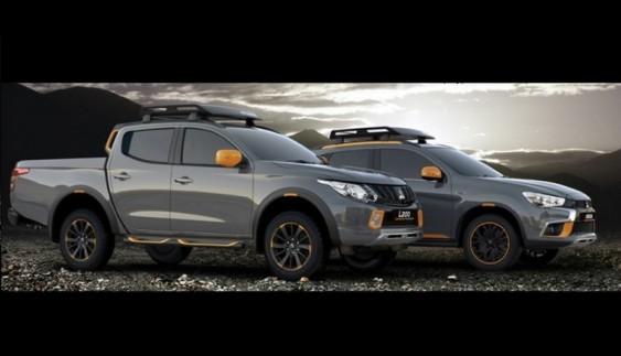 Представлені концепти Mitsubishi L200 і ASX для активних людей