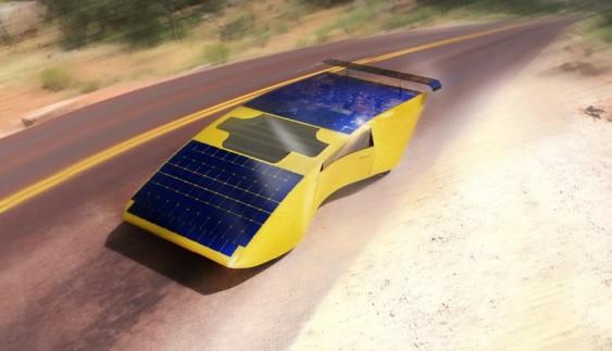 Створено дешеве авто із вбудованими в дах сонячними модулями