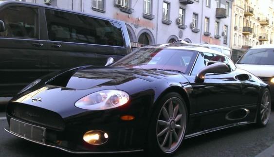 Киянин купив спорткар ручної збірки Spyker з фільму «Основний інстинкт» (ФОТО)