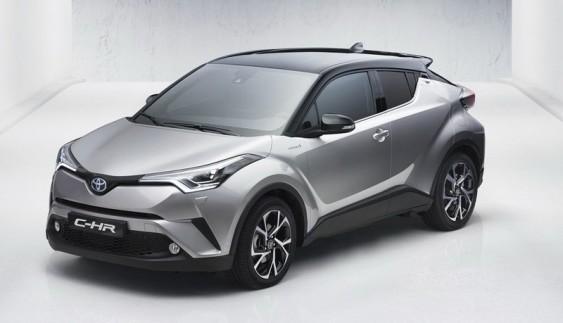Кросовер Toyota C-HR розсекретили до прем'єри (ФОТО)