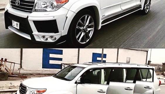 Тюнінг по-арабськи: 6-дверний Toyota Land Cruiser, як елітна маршрутка