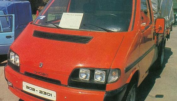 """ЗАЗ-2301 """"Cнaгa"""" – дослідна малотоннажна вантажівка"""