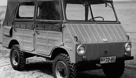 ЗАЗ-971 – повнопривідний автомобіль, випущений в одному екземплярі