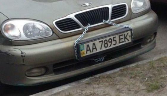 Водії придумали оригінальний спосіб, як вберегти машину від автокрадіїв