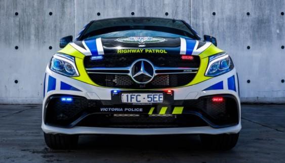 Поліція Австралії отримала 585-сильні Mercedes GLE