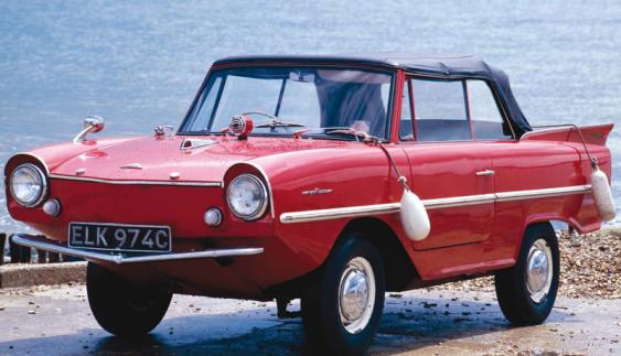 Німецький автомобіль-амфібія Amphicar