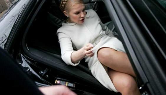 Кортеж Тимошенко оштрафували за порушення ПДР