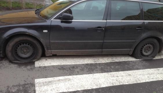 """Без коліс: як пішоходи помстилися """"герою парковки"""""""