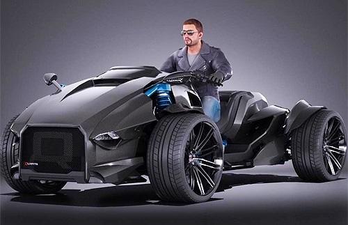 Українська компанія здивує світ 600-сильним квадроциклом
