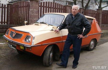 """Саморобний автомобіль """"Фантазія"""" на базі ЗАЗ-964"""