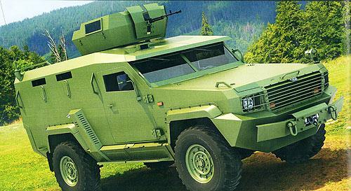 Новий український бронеавтомобіль майже готовий до прем'єри