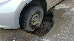 Як відшкодувати матеріальну шкоду, якщо авто потрапило в яму?