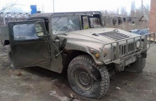 Що залишилося від армійського Hummer після атаки