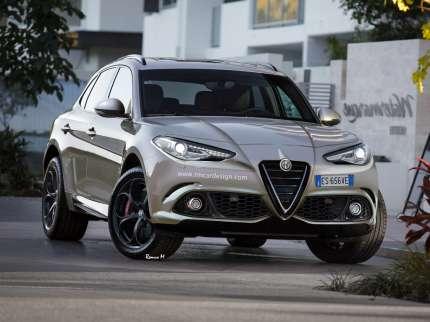 Alfa Romeo покаже свій перший кросовер
