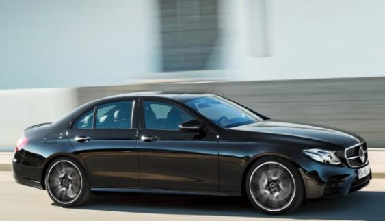 "Mercedes-Benz представив ""заряджену"" версію E-Class"