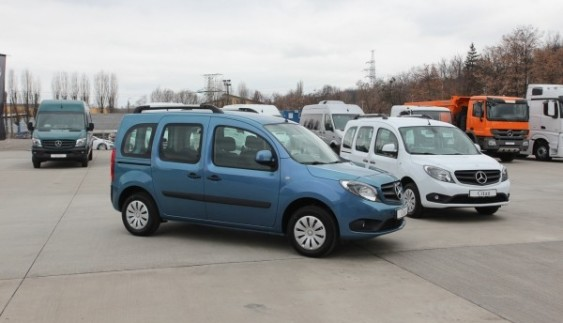 В Україні презентовано Mercedes-Benz Citan