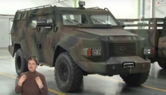 Яка сила у першого українського броньовика, що випустили у Черкасах? (відео)