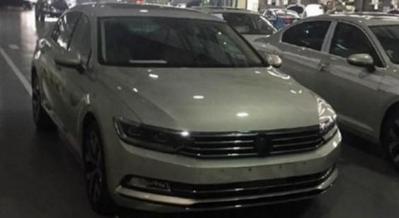 У Пекіні помітили новий Volkswagen Magotan