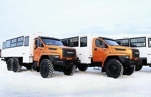 Вантажівки «Урал» будуватимуть газопровід «Сила Сибіру» (фото)