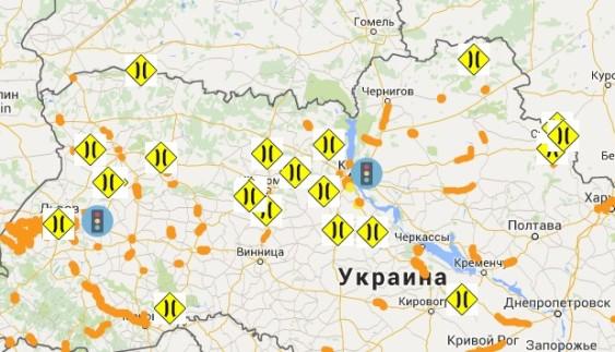 Які дороги будуть ремонтуватися в 2016 році — інтерактивна карта