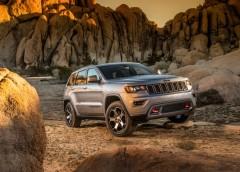 У Мережі з'явились офіційні фото нового Jeep Grand Cherokee Trailhawk