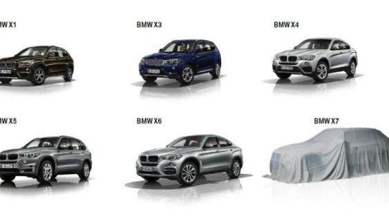 BMW показала кросовер X7 на першому офіційному тизері