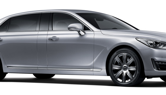 Hyundai представив конкурента Mercedes-Maybach (фото)