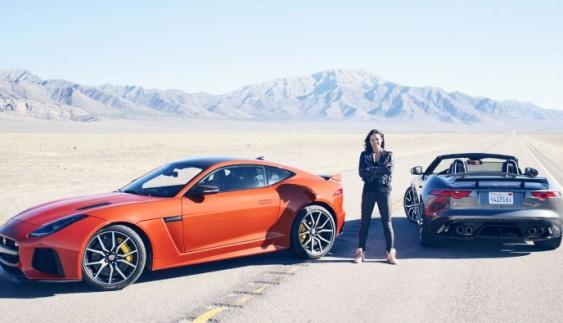 Зірка «Форсажу» розігнала Jaguar F-Type SVR до надзвичайної швидкості (відео)