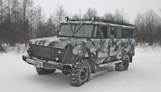 Люксовий всюдихід на базі ГАЗ-66