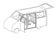 «Зсувне крило чайки» – новий різновид дверей авто