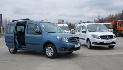 На український авторинок виходить новий фургон Mercedes-Benz