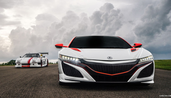 2017 Acura NSX готується встати на конвеєр